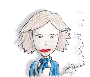 Portrait Eliana Vicari dessin Doots