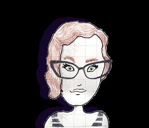Portrait de Lily Robert Foley dessin de Doots
